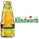 Klindworth Apfelsaft klar 24x0,2l Kasten Glas